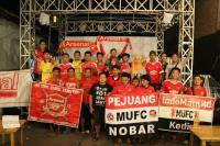 Nobar Indomanutd Kediri with AIS Kediri