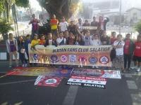 Car Free Day Indomanutd Salatiga with Ikatan Fans Club Salatiga ( IFCS )