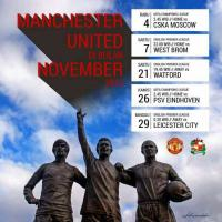 Jadwal Pertandingan Bulan November 2015